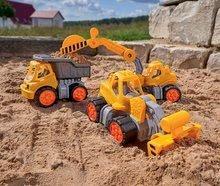 Teherautók - Teherautó Dumper Power Worker BIG munkagép 33 cm gumikerekekkel 2 éves kortól_2