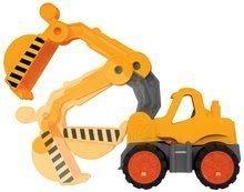 Stavebné stroje - Bager Power BIG veľký pracovný stroj dĺžka 67 cm žltý od 24 mes_22
