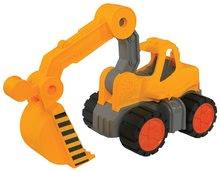 Játék építőgépek - Markológép Digger Power Worker BIG munkagép 67 cm gumikerekekkel 2 éves kortól_2
