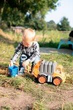 Teherautók - Kukásautó Power Worker BIG szemétgyűjtővel és mozgatható részekkel - gumikerekekkel 2 éves kortól_1