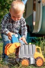 Teherautók - Kukásautó Power Worker BIG szemétgyűjtővel és mozgatható részekkel - gumikerekekkel 2 éves kortól_3