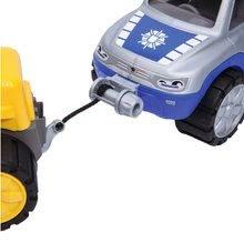 Stavebné stroje - Auto Polícia BIG pracovné dĺžka 33 cm modro-sivé od 24 mes_0