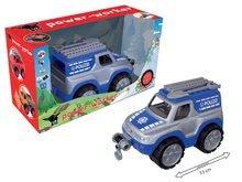 Stavebné stroje - Auto Polícia BIG pracovné dĺžka 33 cm modro-sivé od 24 mes_1