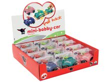 Odrážadlá sety - Set ružové odrážadlo New Bobby Minnie s klaksónom a ružové skladacie autíčko Mini Bobby od 12 mes_12