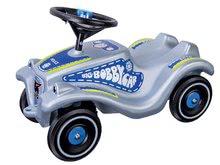 Babytaxiu auto Bobby Classic Police BIG cu sunet şi cu lumină albastru de la 12 luni