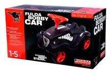 Odrážadlá sety - Set odrážadlo Fulda New Bobby BIG s ochrannou maskou čierne a autíčko Mini Bobby Classic na naťahovanie od 12 mes_11