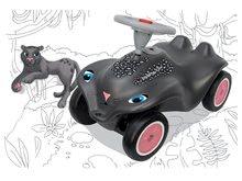Maşinuţă babytaxiu Panther BIG New Bobby Car cu claxon şi roţi din cauciuc de la 12 luni