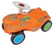 Odrážedlo auto Retro Look New Bobby Car BIG s klaksonem oranžové od 12 měsíců