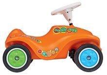 Odrážadlo pre deti auto Retro Look New Bobby Car BIG s klaksónom od 12 mesiacov oranžové