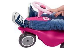 Odrážadlá sety - Set ružové odrážadlo New Bobby Minnie s klaksónom a ružové skladacie autíčko Mini Bobby od 12 mes_4