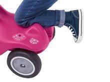 Odrážadlá sety - Set ružové odrážadlo New Bobby Minnie s klaksónom a ružové skladacie autíčko Mini Bobby od 12 mes_5