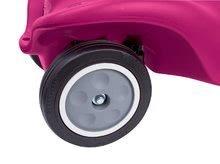 Odrážadlá sety - Set ružové odrážadlo New Bobby Minnie s klaksónom a ružové skladacie autíčko Mini Bobby od 12 mes_3