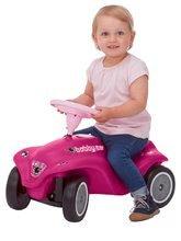 Odrážadlá sety - Set ružové odrážadlo New Bobby Minnie s klaksónom a ružové skladacie autíčko Mini Bobby od 12 mes_1