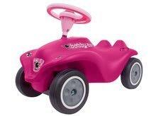 Odrážadlá sety - Set ružové odrážadlo New Bobby Minnie s klaksónom a ružové skladacie autíčko Mini Bobby od 12 mes_10