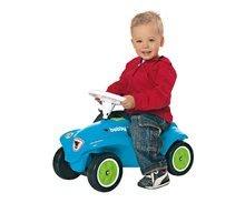 Odrážadlá sety - Set odrážadlo New Bobby BIG s klaksónom tyrkysové a autíčko Mini Bobby na naťahovanie od 12 mes_9