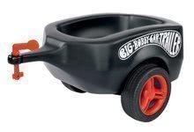Poganjalci kompleti - Komplet poganjalec avto Next Bobby Car BIG rdeč in ovalna črna prikolica z mini avtomobilčkom od 12 mes_5