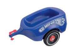 Prívesný vozík k odrážadlám BIG modrý od 12 mesiacov