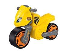 Odrážadlá od 18 mesiacov - Odrážadlo motorka Speed Bike BIG žlté od 18 mes_4