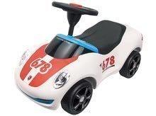 Odrážedlo pro děti auto Porsche Premium BIG s klaksonem od 18 měsíců bílé