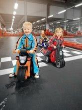 Odrážadlá od 18 mesiacov - Odrážadlo motorka Sport Bike BIG s elektronickým klaksónom čierno-oranžové od 18 mes_7