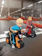 Odrážadlá od 18 mesiacov - Odrážadlo motorka Sport Bike BIG s elektronickým klaksónom čierno-oranžové od 18 mes_10