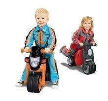 Odrážadlá od 18 mesiacov - Odrážadlo motorka Sport Bike BIG s elektronickým klaksónom čierno-oranžové od 18 mes_6