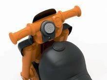 Odrážadlá od 18 mesiacov - Odrážadlo motorka Sport Bike BIG s elektronickým klaksónom čierno-oranžové od 18 mes_3