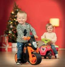 Odrážadlá od 18 mesiacov - Odrážadlo motorka Sport Bike BIG s elektronickým klaksónom čierno-oranžové od 18 mes_11