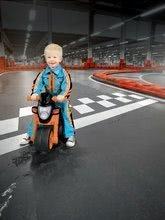Odrážadlá od 18 mesiacov - Odrážadlo motorka Sport Bike BIG s elektronickým klaksónom čierno-oranžové od 18 mes_8