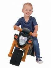 Odrážadlá od 18 mesiacov - Odrážadlo motorka Sport Bike BIG s elektronickým klaksónom čierno-oranžové od 18 mes_0