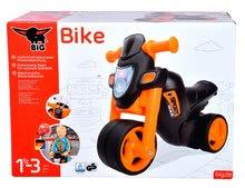 Odrážadlá od 18 mesiacov - Odrážadlo motorka Sport Bike BIG s elektronickým klaksónom čierno-oranžové od 18 mes_17