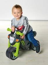 Odrážadlá od 18 mesiacov - Odrážadlo motorka Sport Bike Green BIG so zvukom a široké dvojité gumené kolesá zelené od 18 mes_0