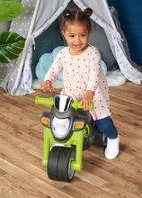 Odrážadlá od 18 mesiacov - Odrážadlo motorka Sport Bike Green BIG so zvukom a široké dvojité gumené kolesá zelené od 18 mes_7