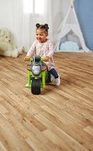 Odrážadlá od 18 mesiacov - Odrážadlo motorka Sport Bike Green BIG so zvukom a široké dvojité gumené kolesá zelené od 18 mes_9