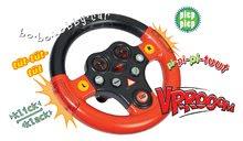 Odrážadlá sety - Set odrážadlo Bobby Classic BIG s klaksónom červené, interaktívny volant a autíčko Mini Bobby na naťahovanie od 12 mes_4