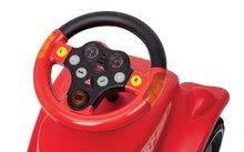 Odrážadlá sety - Set odrážadlo Bobby Classic BIG s klaksónom červené, interaktívny volant a autíčko Mini Bobby na naťahovanie od 12 mes_5