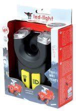 Odrážadlá sety - Set odrážadlo Bobby Classic BIG s klaksónom červené so svetlami na batérie a autíčko Mini Bobby na naťahovanie od 12 mes_30