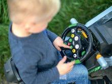 Otroška vozila na pedala - Traktor na pedala bager BIG Jim Turbo z interaktivnim volanom na verižni pogon_8