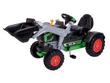 Otroška vozila na pedala - Traktor na pedala bager BIG Jim Turbo z interaktivnim volanom na verižni pogon_2