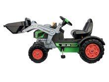 Otroška vozila na pedala - Traktor na pedala bager BIG Jim Turbo z interaktivnim volanom na verižni pogon_9