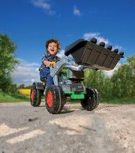 Otroška vozila na pedala - Traktor na pedala bager BIG Jim Turbo z interaktivnim volanom na verižni pogon_5