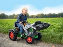 Otroška vozila na pedala - Traktor na pedala bager BIG Jim Turbo z interaktivnim volanom na verižni pogon_6