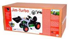 Otroška vozila na pedala - Traktor na pedala bager BIG Jim Turbo z interaktivnim volanom na verižni pogon_11
