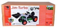 Otroška vozila na pedala - Traktor na pedala bager BIG Jim Turbo z interaktivnim volanom na verižni pogon_12