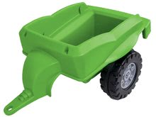 Otroška vozila na pedala - Traktor na pedala Jim Loader BIG z nakladalcem in prikolico zelen_4
