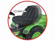 Otroška vozila na pedala - Traktor na pedala Jim Loader BIG z nakladalcem in prikolico zelen_11