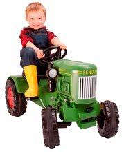 Detské šliapacie vozidlá - Traktor na šliapanie Fendt Dieselross BIG zelený_0