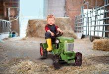 Detské šliapacie vozidlá - Traktor na šliapanie Fendt Dieselross BIG zelený_3