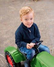 Detské šliapacie vozidlá - Traktor na šliapanie Fendt Dieselross BIG zelený_4
