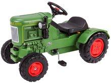 Detské šliapacie vozidlá - Traktor na šliapanie Fendt Dieselross BIG zelený_5